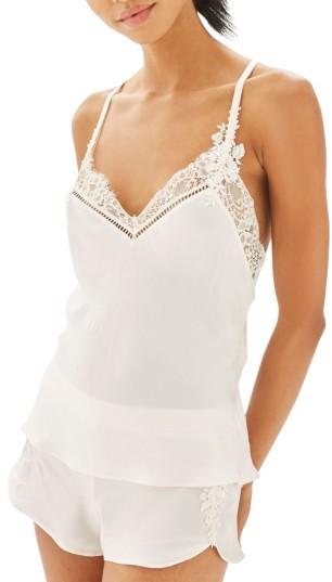 TopshopWomen's Topshop Bride La Bohemian Camisole Pajamas