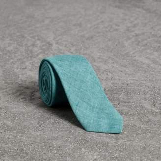 Burberry Slim Cut Linen Tie