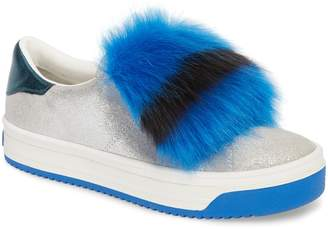 Marc Jacobs Empire Faux Fur Trim Sneaker