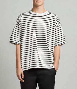AllSaints Kleve Stripe Crew T-Shirt