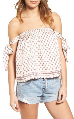 Women's Tularosa Perry Off The Shoulder Top $128 thestylecure.com