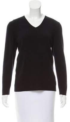 Saint James V-Neck Wool Sweater