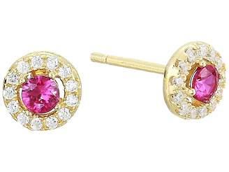 Shashi Pia Pave Stud Earrings