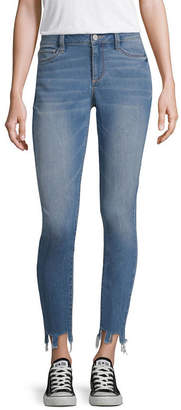 A.N.A Embroidery Stone Hem Ankle Skinny Fit Jeggings