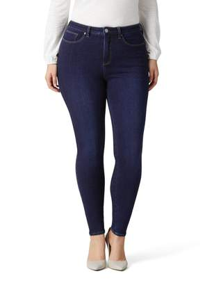 Jeanswest Luxe Lounge 360 Curve High Waisted Skinny Jean-Dark Fusion-8