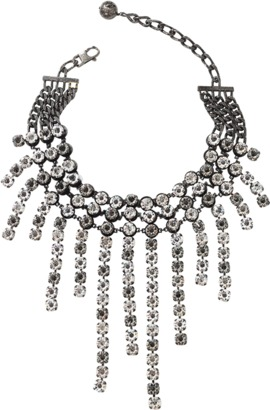 LANVIN Kristin Fringe Necklace $1,990 thestylecure.com