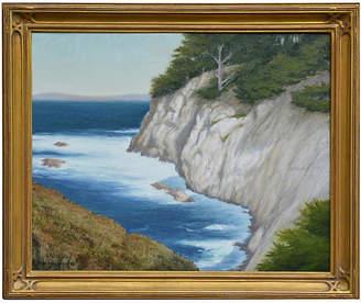 One Kings Lane Vintage Point Lobos Cove by Max Flandorfer - Robert Azensky Fine Art Art