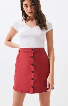 RVCA Promises High Waisted Skirt