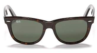 Ray-Ban Unisex Classic Polarized Wayfarer Sunglasses, 50mm