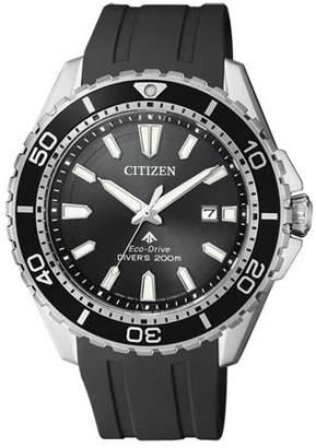 Citizen Eco-Drive Promaster Diver Rubber Mens Watch BN0190-55L