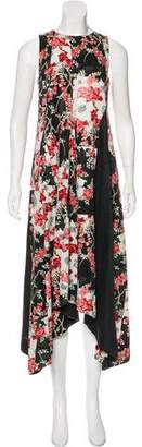 Rag & Bone Floral Print Flared Dress