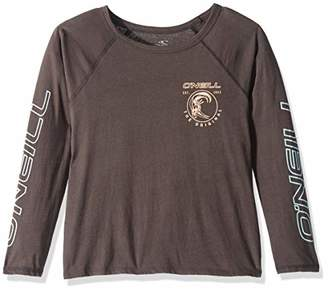 O'Neill Women's Emporium Long Sleeve Graphic Screen Print Tee Shirt