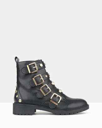betts Vision Studded Combat Boots