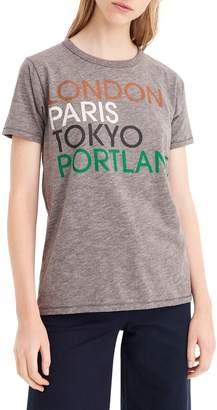 J.Crew London, Paris, Tokyo, Portland Tee