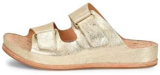 Kork-Ease Ease Gold Velcro Sandal