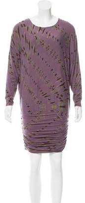Yigal Azrouel Printed Mini Dress
