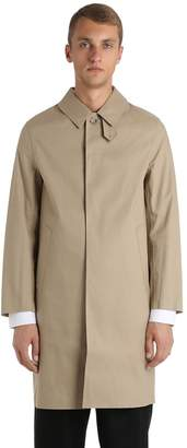MACKINTOSH Rubberized Cotton Coat