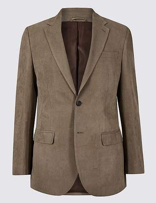 Marks and Spencer Regular Fit Textured Jacket