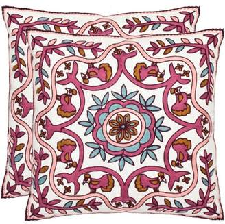 Safavieh Ruddy Bohemian Pillow, Set of 2