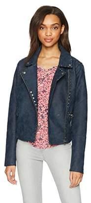 William Rast Women's Audacious Alexa Stud Moto Jacket