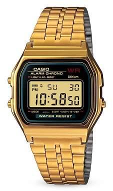 Casio Vintage Digital A159 Watch, 36.8mm × 33.2mm
