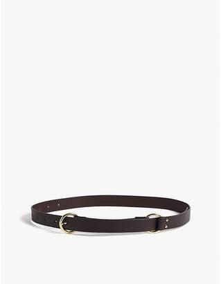 Maje Leather belt