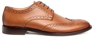H&M Leather Brogues - Orange