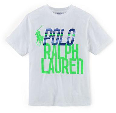 Ralph Lauren Boys 8-20 Cotton Tee