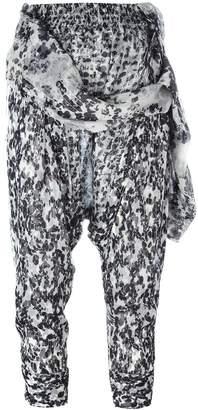 Faith Connexion print harem trousers