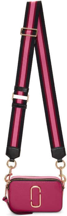 Marc Jacobs Pink Small Snapshot Bag
