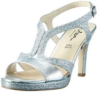 11b60c9d63cc8 Ladies Silver Sandals - ShopStyle UK