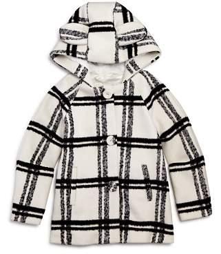 Bardot Junior Girls' Plaid Bunny Coat - Baby
