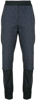 Tibi quilted combo joggers