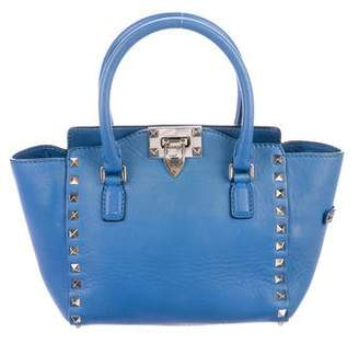 Valentino Leather Rockstud Satchel