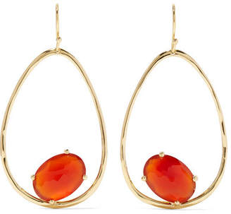 Ippolita Rock Candy 18-karat Gold Carnelian Earrings