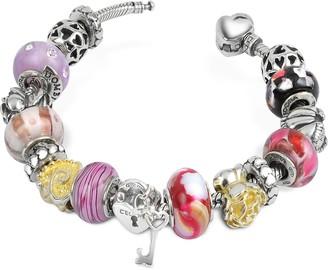 Nuovegioie Tedora Sterling Silver Romance Bracelet
