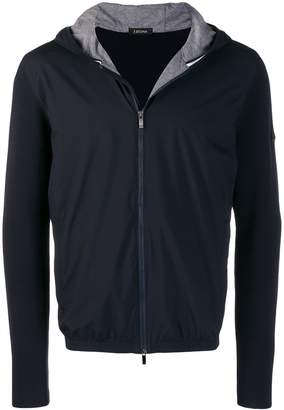 Ermenegildo Zegna hooded zip cardigan