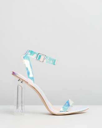 Public Desire Alia Perspex High Heels