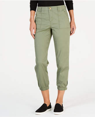 Style&Co. Style & Co Snap-Cuff Casual Pants, Created for Macy's