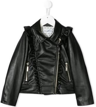 Simonetta faux-leather jacket