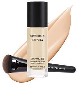 Nobrand NO BRAND bareMinerals barePro Liquid Foundationwith Luxe Brush