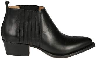 Buttero Western Style Ankle Boots
