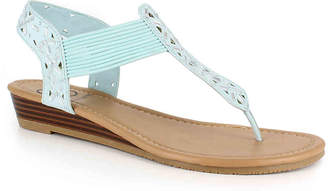 Daisy Fuentes Gracie Wedge Sandal - Women's