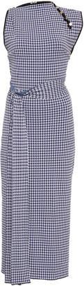 Rachel Gilbert Ari Belted Gingham Dress Size: XS