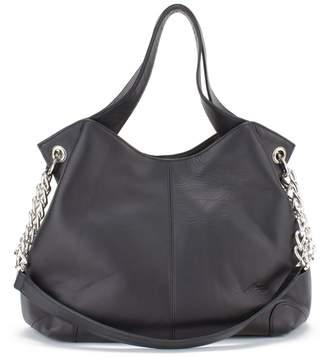 Soprano Handbags Sharon Chain Accent Leather Bag
