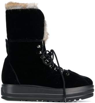 Baldinini lace up snow boots