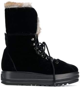 Baldinini (バルディニーニ) - Baldinini lace up snow boots