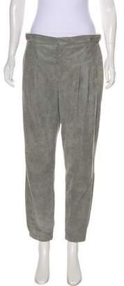 Helmut Lang High-Rise Leather Pants