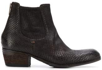 Pantanetti chelsea ankle boots