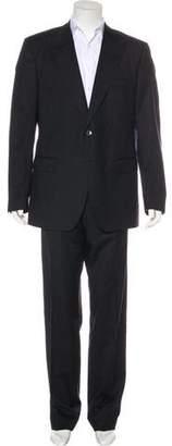 Dolce & Gabbana Striped Virgin Wool Two-Piece Suit